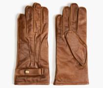 Belstaff Heyford Handschuhe Cognac-Braun