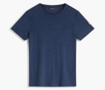 Belstaff New Thom T-Shirt Mit Rundhalsausschnitt Bright Indigo Melange