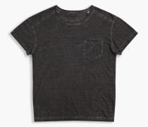 Belstaff Crossfell T-Shirt Mit Rundhalsausschnitt Antik-Schwarz