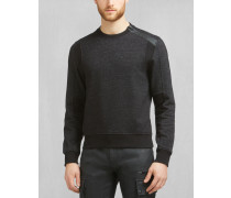 Belstaff Hornby Sweatshirt Mit Rundhalsausschnitt Schwarz