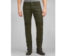 Belstaff Schmal Geschnittene Eastham Jeans Bronze Green