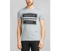 Belstaff Tilbury T-Shirt Mittelgrau meliert