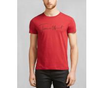 Belstaff James Hunt Pittston T-Shirt Tiefrot