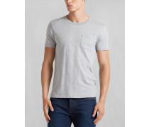 Belstaff Martin T-Shirt Mit Rundhalsausschnitt Hellgrau