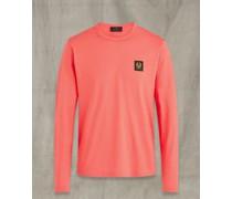 Langarm-T-Shirt Rosa S