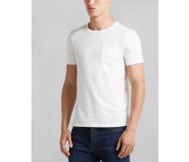 Belstaff Martin T-Shirt Mit Rundhalsausschnitt RohweiB