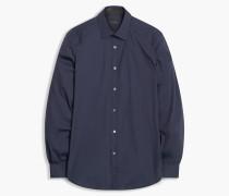 Belstaff Dunmore Hemd Blau
