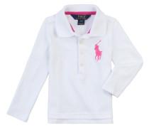 Mädchen-Langarm-Polo (Gr. 2-4) | Mädchen (92;98;104)