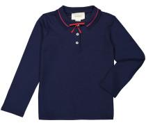 Mädchen-Langarm-Polo | Mädchen