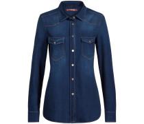 Classic Western Shirt Jeansbluse | Damen (L;M;S)