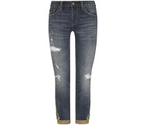The Waverly Straight Crop 7/8-Jeans