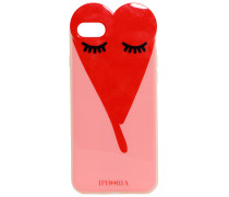 iPhone Case 7 Red Sleeping Heart | Damen (Unisize)