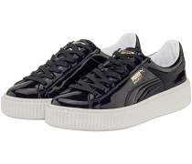 Basket Platform Patent Sneaker | Damen