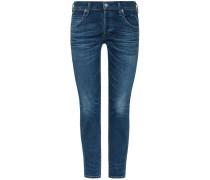 Elsa Jeans Mid Rise Slim Fit Crop | Damen