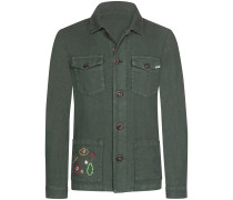 Leinen Shirt Jacket
