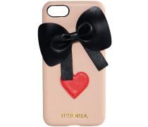 iPhone Case 7 Black Bow   Damen (Unisize)