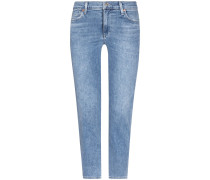 Cara 7/8-Jeans High Rise Cigarette Ankle