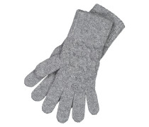 Cable Cashmere-Handschuhe