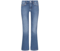High Hise Cropped Flare 7/8-Jeans | Damen