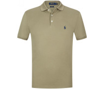 Polo-Shirt Slim Fit Stretch Mesh