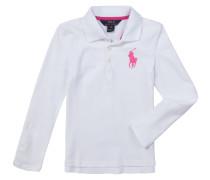 Mädchen-Langarm-Polo (Gr. S-XL) | Mädchen