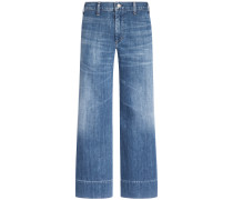Abigail 7/8-Jeans High Rise Wide Leg | Damen