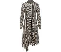 Striped Sensation Seidenkleid