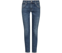 Elsa 7/8-Jeans Slim Fit Mid Rise Crop