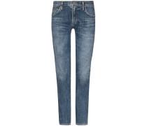 Elsa 7/8-Jeans Mid Rise Slim Fit Crop | Damen