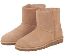 Classic Unlined Mini Perf Boots | Damen