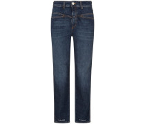 Pedal Pusher Jeans High Rise