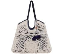 Perla Macrame Tote Bag