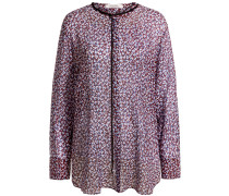 Leopard Bloom Bluse | Damen
