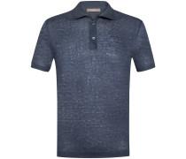 Leinen-Polo-Shirt | Herren