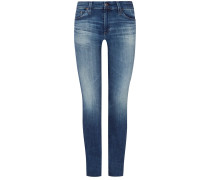 The Mari Jeans High Rise Straight