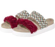 Raffia Colored Sandalen