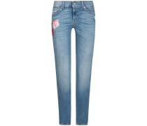 Roxanne Mid Rise Jeans Crop | Damen (26;27;29)