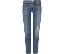 Cara 7/8-Jeans High Rise Cigarette Ankle | Damen