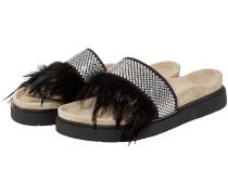 Studs Feathers Sandalen