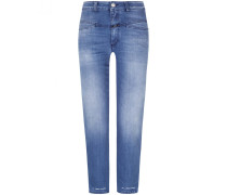 Pedal Pusher 7/8-Jeans Heritage Fit High Waist