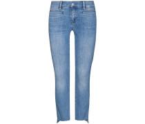 Paris 7/8-Jeans Mid Rise Cropped Slim | Damen