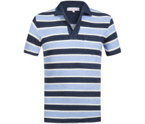Terry Stripe Frottee-Polo-Shirt | Herren (L;M;XL)