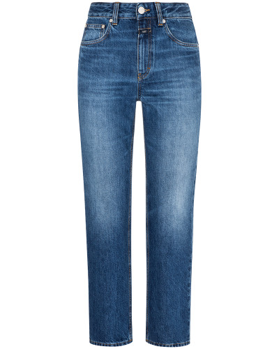 Relaxed Fit 7/8-Jeans High Waist