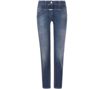 Pedal Position 7/8-Jeans Slim Classic Fit Mid Waist | Damen