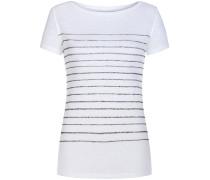 Deluxe Leinen-T-Shirt | Damen