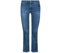 The Jodi 7/8-Jeans High-Rise Slim Flare Crop | Damen