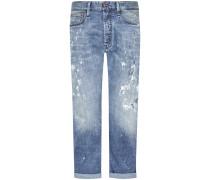 Crop Jeans Low Crotch