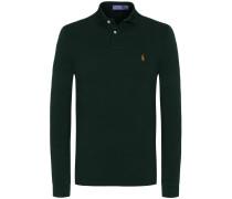 Langarm-Polo Custom Fit   Herren