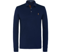 Langarm-Polo Custom Slim Fit | Herren