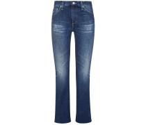 The Jodi 7/8-Jeans High Rise Slim Flare Crop